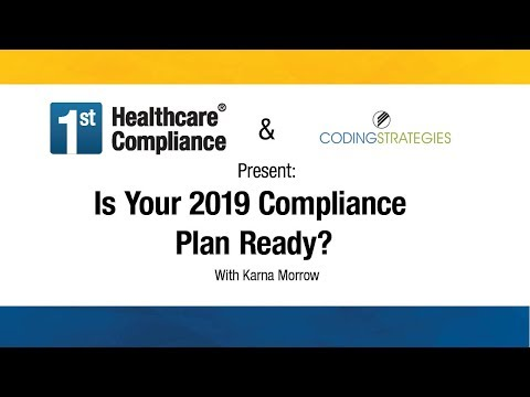 Is Your 2019 Compliance Plan Ready