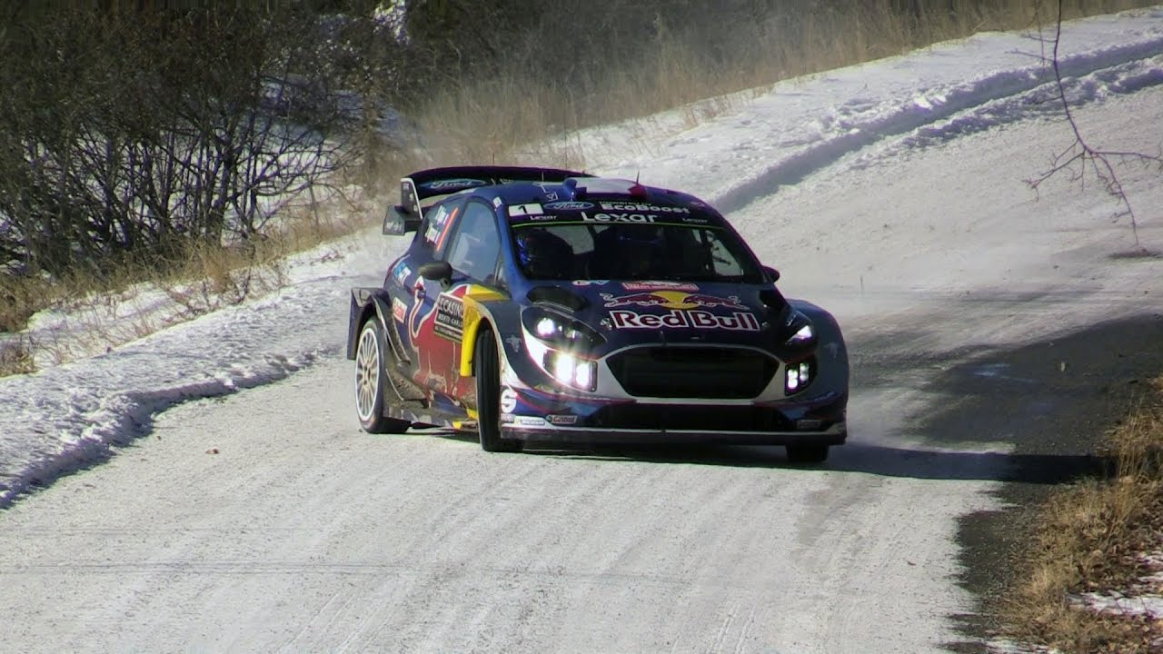 rallye monte carlo 2017 wrc ogier neuville flat out day 2 youtube. Black Bedroom Furniture Sets. Home Design Ideas