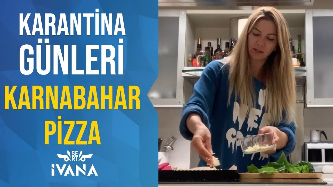 Karantina Günleri, Karnabahar Pizza | Ivana Sert