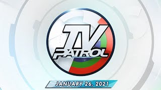TV Patrol live streaming January 26, 2021 | Full Episode Replay