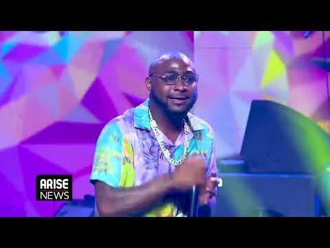 Davido's Performance at THISDAY/ARISE Group's Global Virtual Commemoration - Nigeria @ 60