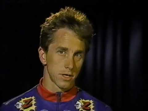 Sports and Science Converge Greg LeMond 1990 Wind Tunnel Testing
