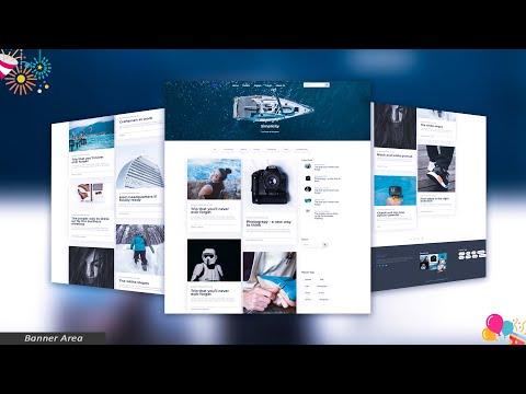 Banner Area - Premium HTML Website Template - 23