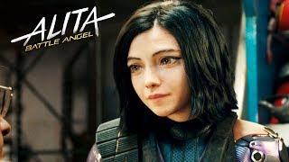 알리타, 이 영화 수위의 상태가..? (잔인쓰..)