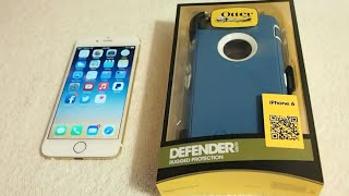 iPhone 6 Otterbox Defender Series Installation: Be Safe Use A Case
