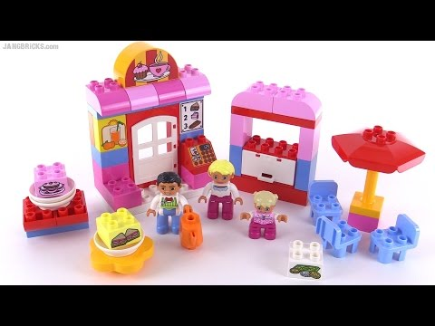 Lego Duplo 2015 Cafe Review Set 10587 Youtube