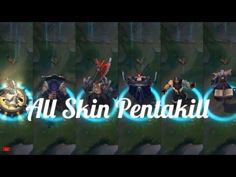 [LOL] Tổng Hợp 6 Trang Phục ''Pentakill'' Mới Và Cũ - All Skin Pentakill