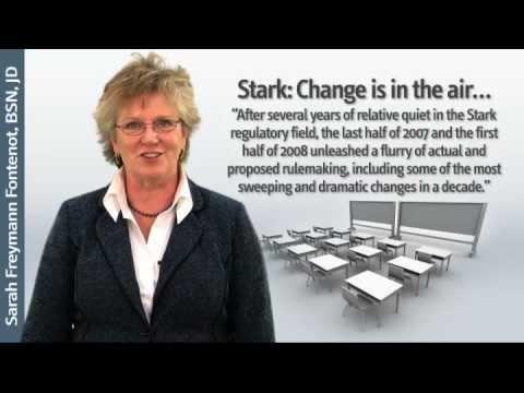 Sarah Fontenot on Stark Law