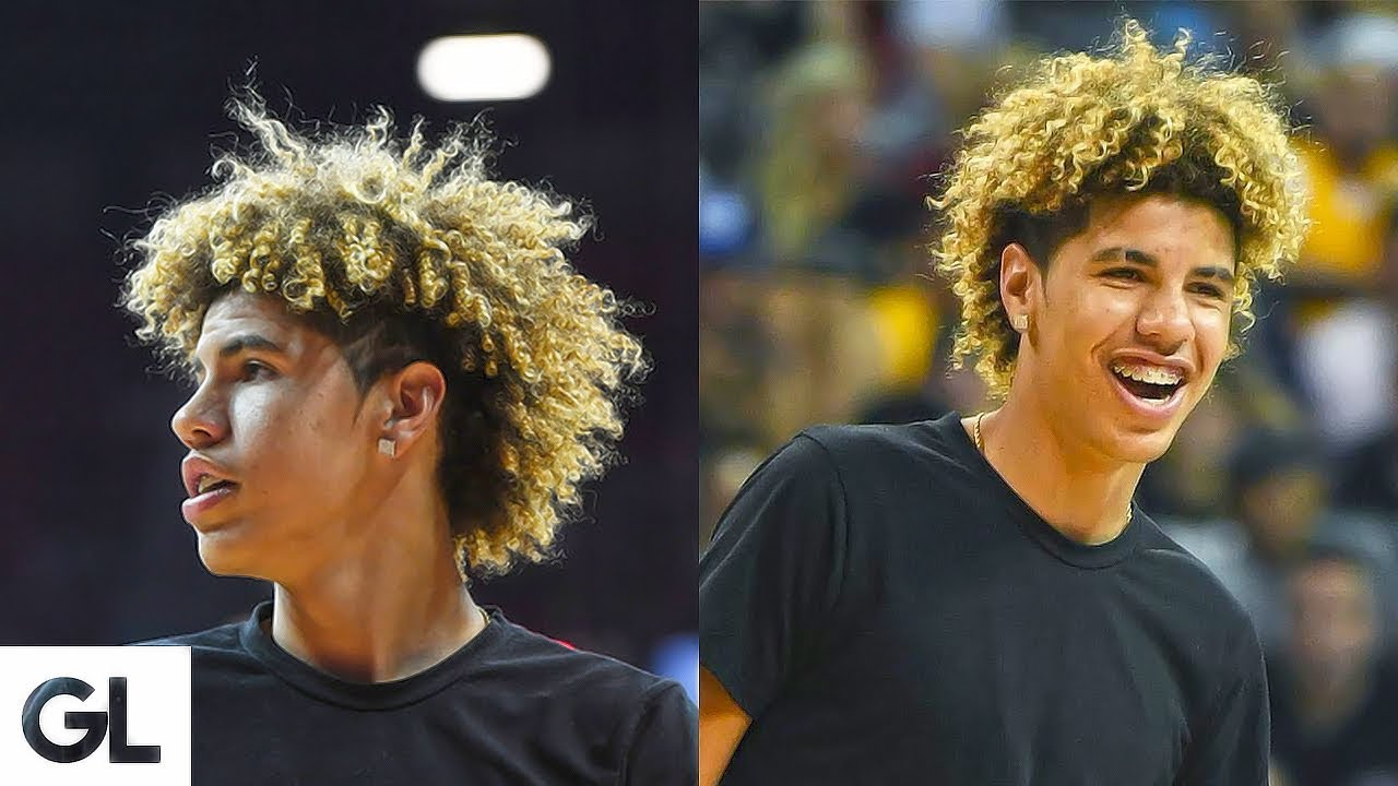 Lamelo Ball S Hair