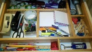 How To Make A Kitchen Drawer Organizer: Woodworking