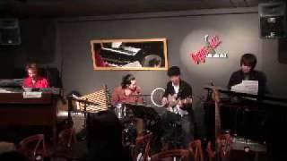 沼袋OrganJazz倶楽部2009・3.14 白根佳尚(Drums)、大野弘毅(B...