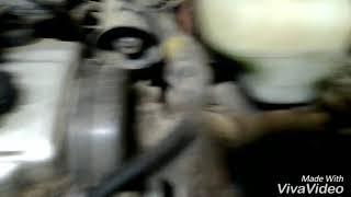 Mitsubishi space wagon замена подушки двигателя.