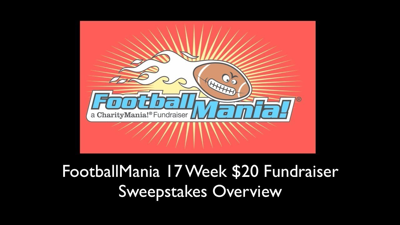 FootballMania 17 Week Fundraiser