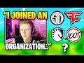 Symfuhny REVEALS The Organization He JOINED | Fortnite Daily Funny Moments Ep.335
