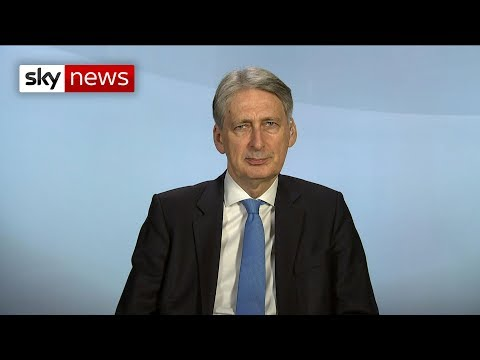 Chancellor: Brexit deal has 'very small' impact on UK economy