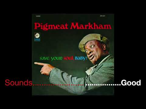 Who Got The Number - Pigmeat Markham Pig's Popcorn - First Rap Records 1969