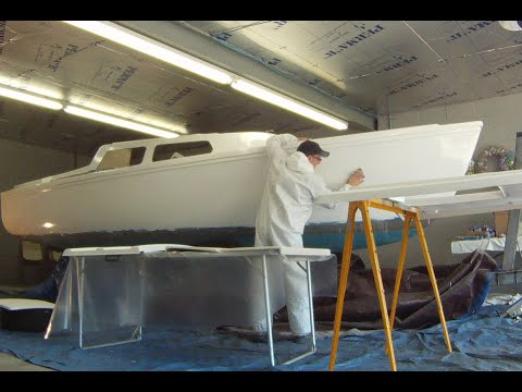 1974 Catalina 22 sailboat painting project, How long did it