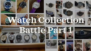 Watch Collection Battle Part 1 ft. The Kavalier | 4 Collections