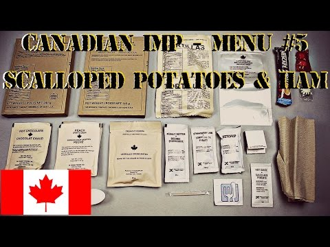 "CANADIAN IMP BREAKFAST MENU #5 FEAT. ""MRE WIFE"" SCALLOPED POTATOES & HAM  - HD 1080P"