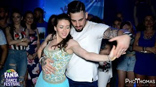 Video Daniel & Ladies [Social Bachata]  @ Fanta Dance Festival 2018 download MP3, 3GP, MP4, WEBM, AVI, FLV Oktober 2018
