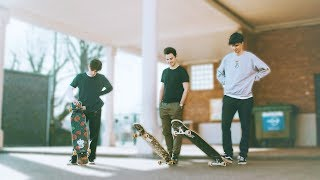Team Crownboards GAME OF SKATE | Longboard Freestyle