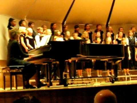 The First Noel / Pachelbel's Canon - Idaho State University Children's Choir Christmas Concert 2010