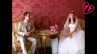 После свадьбы в Праге,  во дворце Кинских