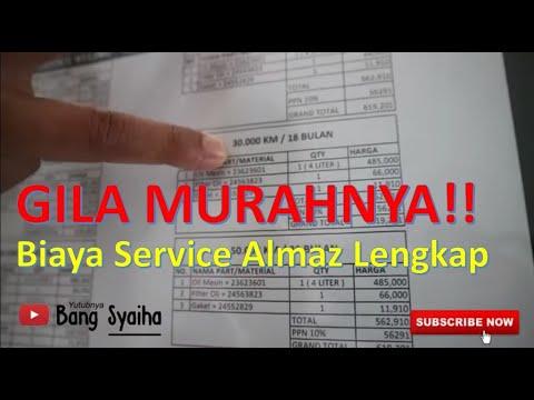 Lengkap! Inilah Biaya Service Wuling Almaz Hingga 50.000 Km