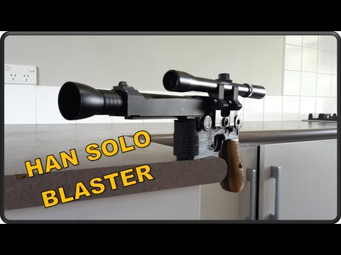 3D Printed Paintball Han Solo Blaster??