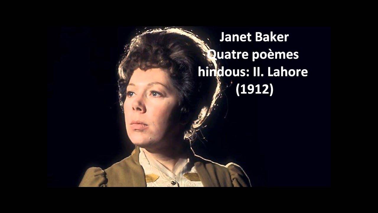 Janet Baker The Complete Quatre Poèmes Hindous Delage