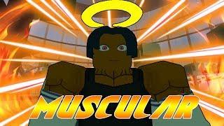 (RARE CODE) New USJ Muscular Raid Boss in Heroes Online!   Roblox   TerraBlox