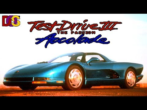 Test Drive 3 The Passion [DOS]   Живой мир (gamesroomtv)