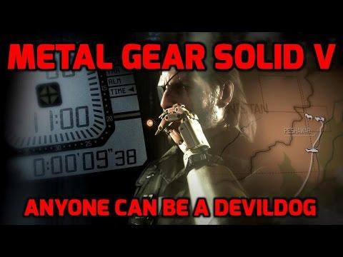 MGSV: Anyone can be a Devildog