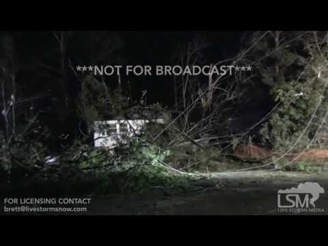 1-22-17 Radium Springs GA Tornado Damage