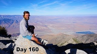160 PCT - Summit Mt. San Jacinto and Heading into Idyllwild