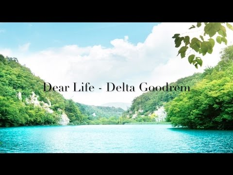 Delta Goodrem Lyric Video - Dear Life
