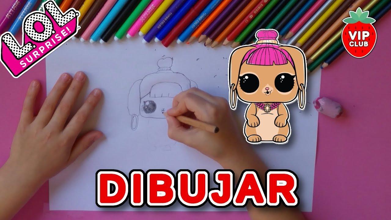 Dibujar Y Pintar A Bunny Wishes De Lol Surprise Pets Youtube