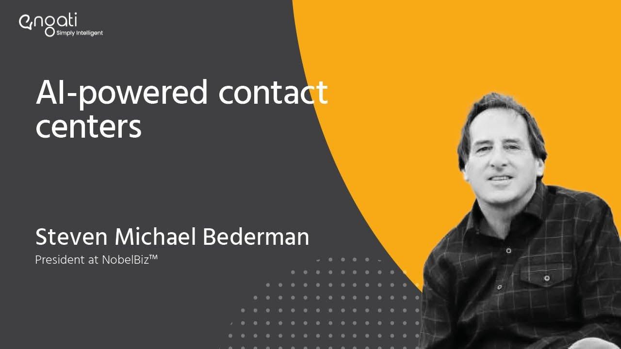2 steps ahead of tech - Steven Van Belleghem on Engati CX