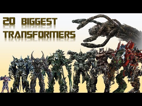 20 Biggest Transformers From Live Action Movies