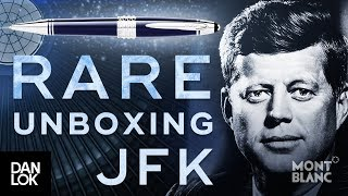 Montblanc John F. Kennedy Special Edition Pen Unboxing