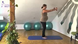 HappyBauch (11) - Komplette Kursstunde  - Fitness für Schwangere