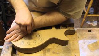 Guitar Builders Basics 8 - How To Make A Temporary Neck Pocket Routing Jig
