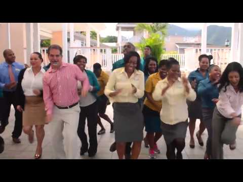 """#HappyDominica - Fort Young Hotel staff remake Pharrell Williams """"Happy"""""""