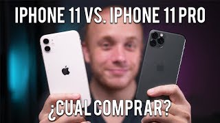 iPhone 11 vs iPhone 11 Pro: Cuál comprar?