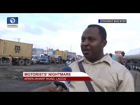 Eye Witness: Motorists Lament The Sorry State Of Apapa Road