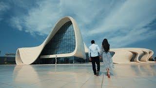 Шикарная свадьба и Love Story снятое в Баку Талех и Сабина