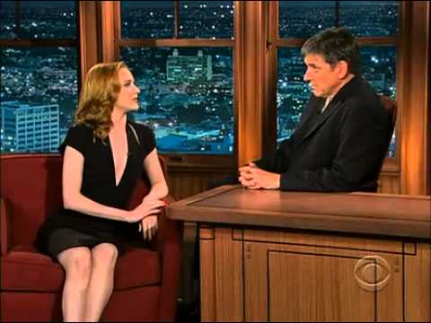 Evan Rachel Wood on Craig Ferguson - 07.07.2009