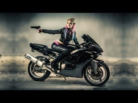David Love Photography: Stephanie Alicia: Motorcycle Shoot