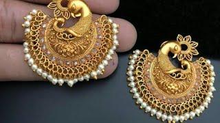 Latest Gold Earrings Desgines,2019