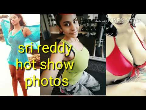Actress Sri reddy hot show photos video||sri reddy hot photoshoot thumbnail